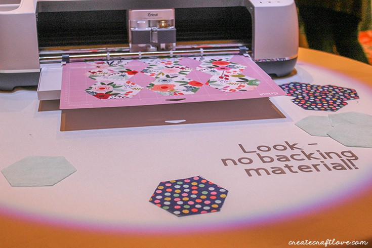 No more backing your material with the Cricut Maker!