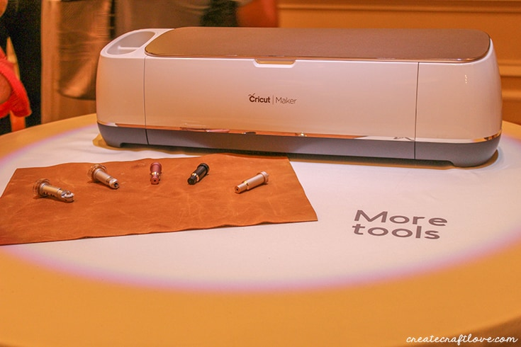 More tools and blades with the Cricut Maker!