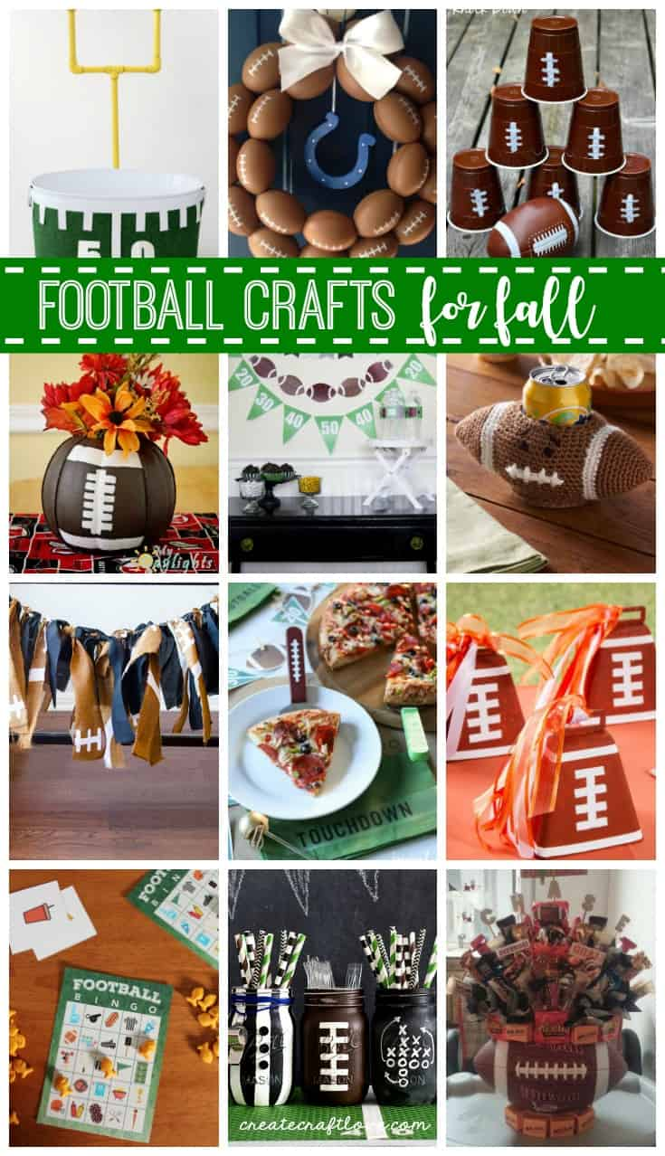 Football Crafts for Fall