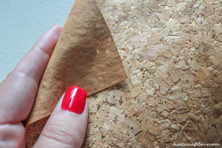 Try this stitchable cork to make your Cork Earrings!