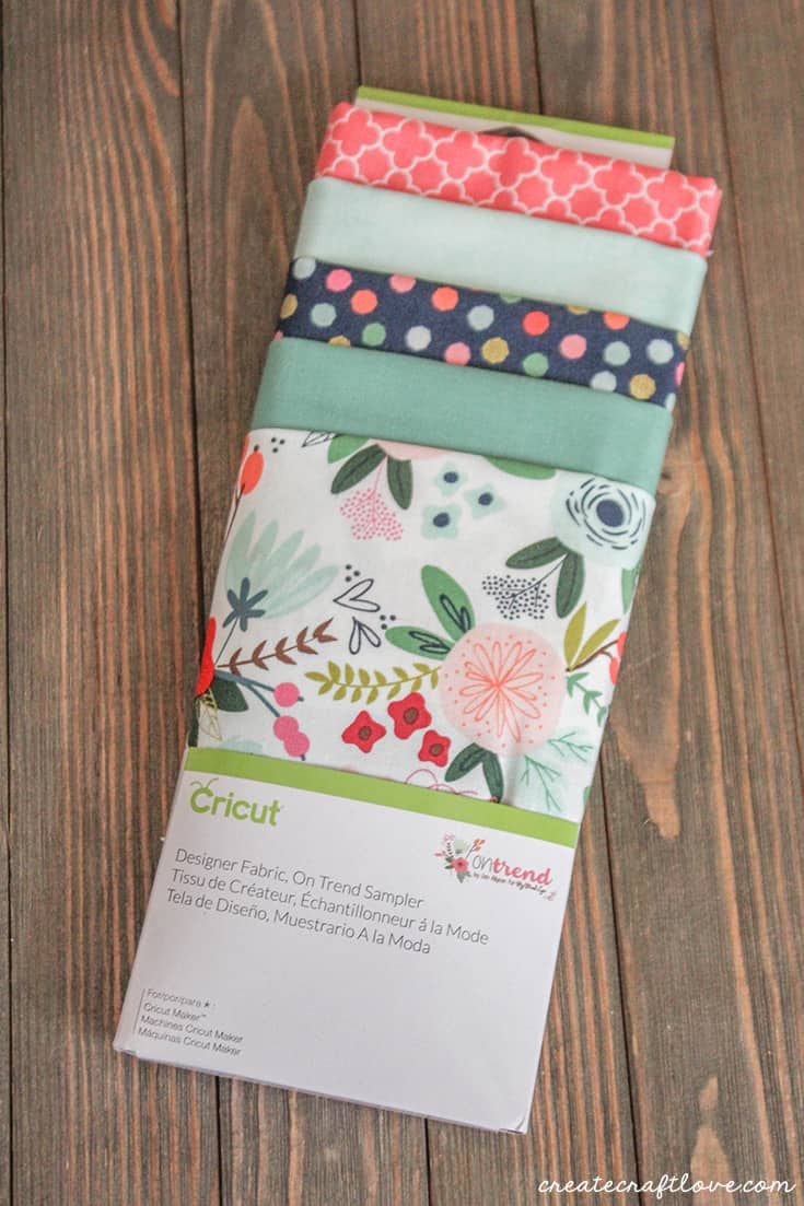 Riley Blake and Cricut teamed up for this fabric line that I used on my Little Zipper Bow Pouch!