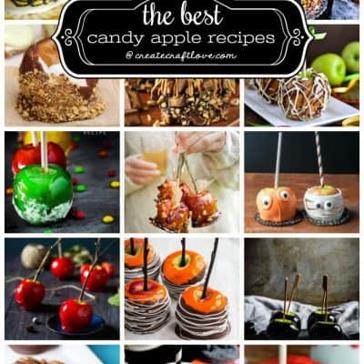 These Candy Apple Recipes put a modern spin on a fall dessert classic!