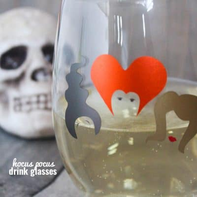 Hocus Pocus Drink Glasses