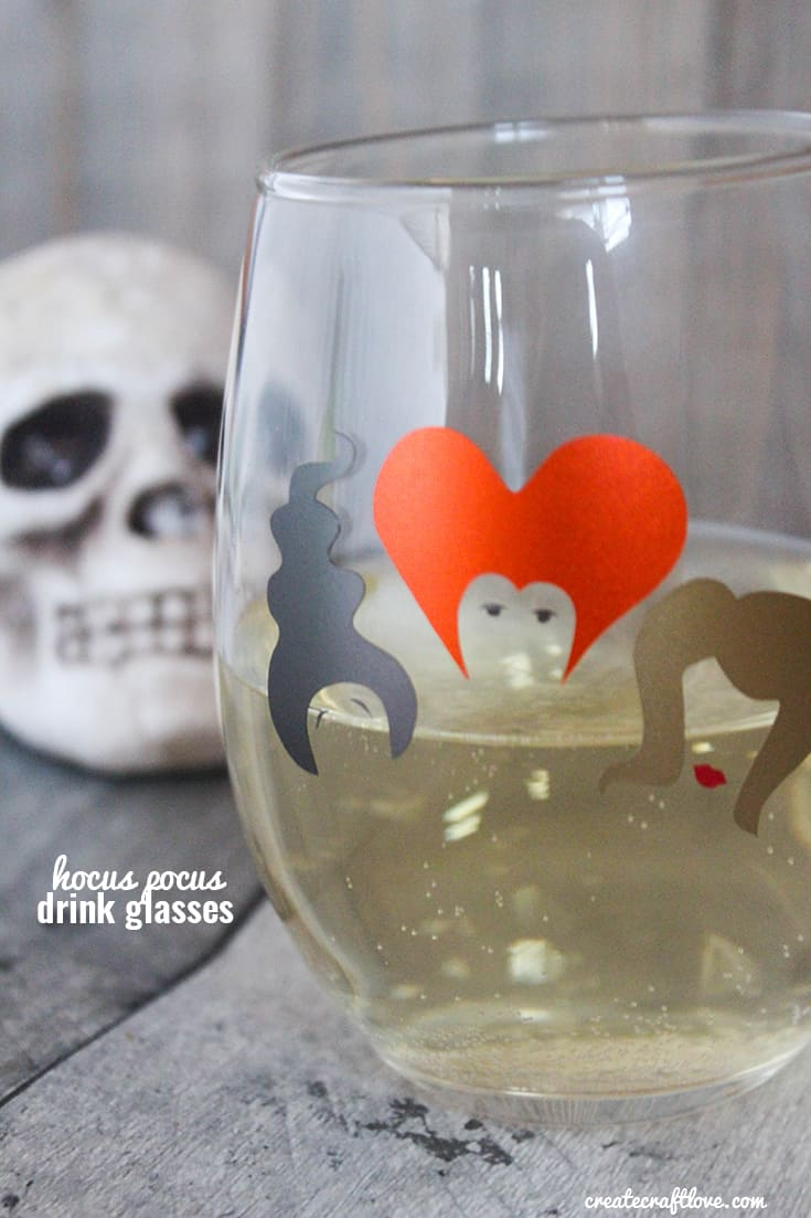 These Hocus Pocus Drink Glasses are sure to conjure up some magic at your October gatherings!