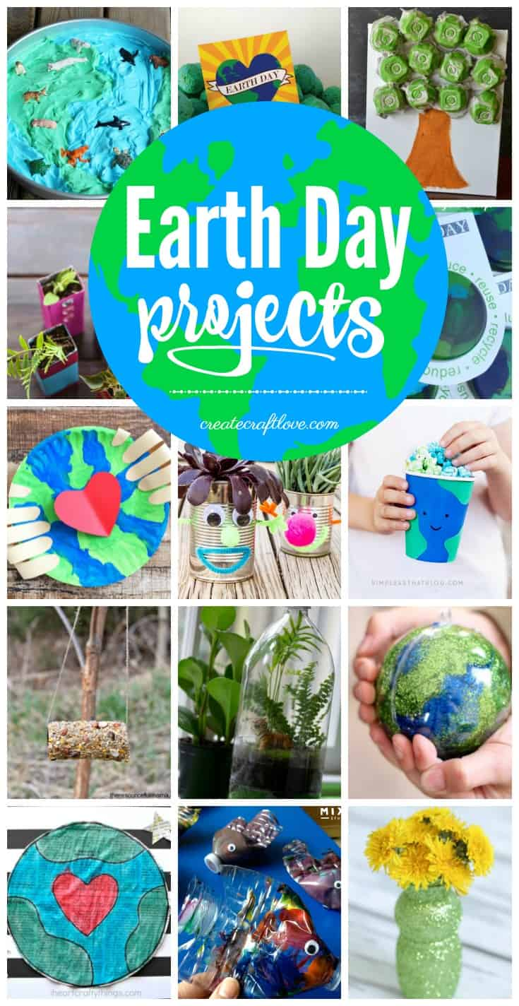 Make every day Earth Day with these fun Earth Day Projects!