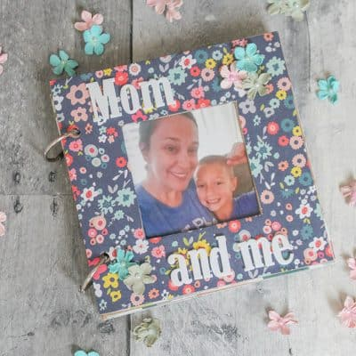 Mothers Day Photo Album and Free Printable