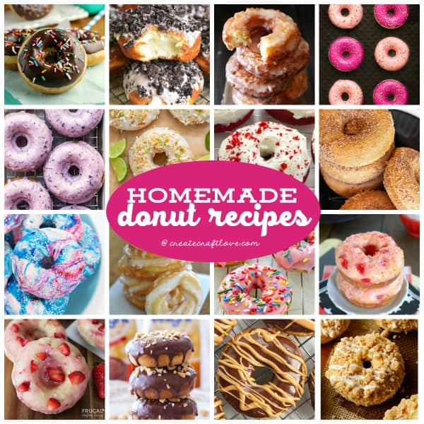 Celebrate National Donut Day with these amazing Homemade Donut Recipes!