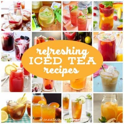 Cool off this summer with one of these Most Refreshing Iced Tea Recipes!