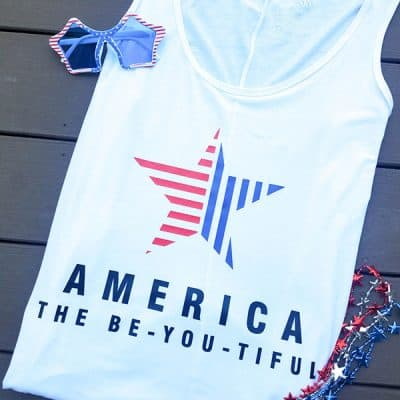 4th of July Beach Cover Up | Free SVG Cut File