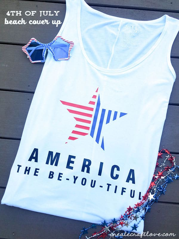 Celebrate America's birthday with our festive 4th of July Beach Cover Up!