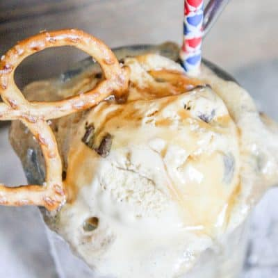 Salted Caramel Ice Cream Float | Easy Recipe