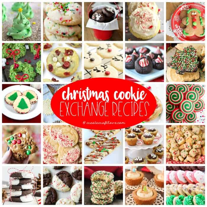 These mouthwatering Christmas Cookie Exchange Recipes are certain to get you in the holiday baking spirit!