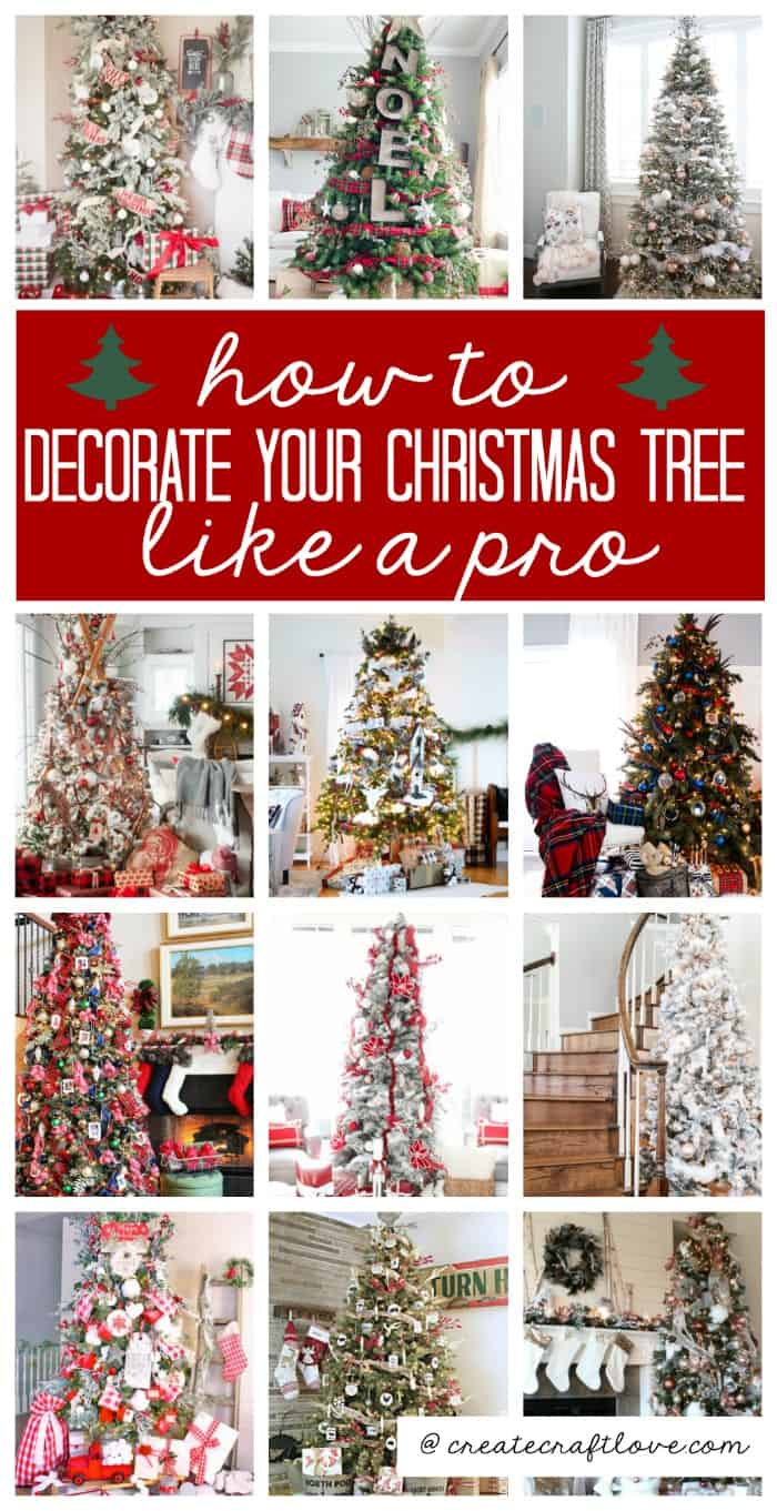 Learn how to decorate your Christmas treelike a pro this season! Whether you are into traditional or whimscal, these ideas are sure to spark your creativity!