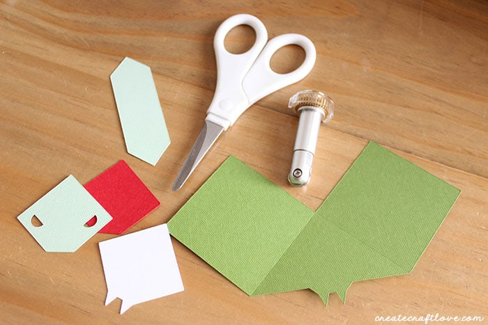 Paper Animal Bookmarks pieces