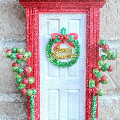 Elf Door | An Elf on the Shelf Idea