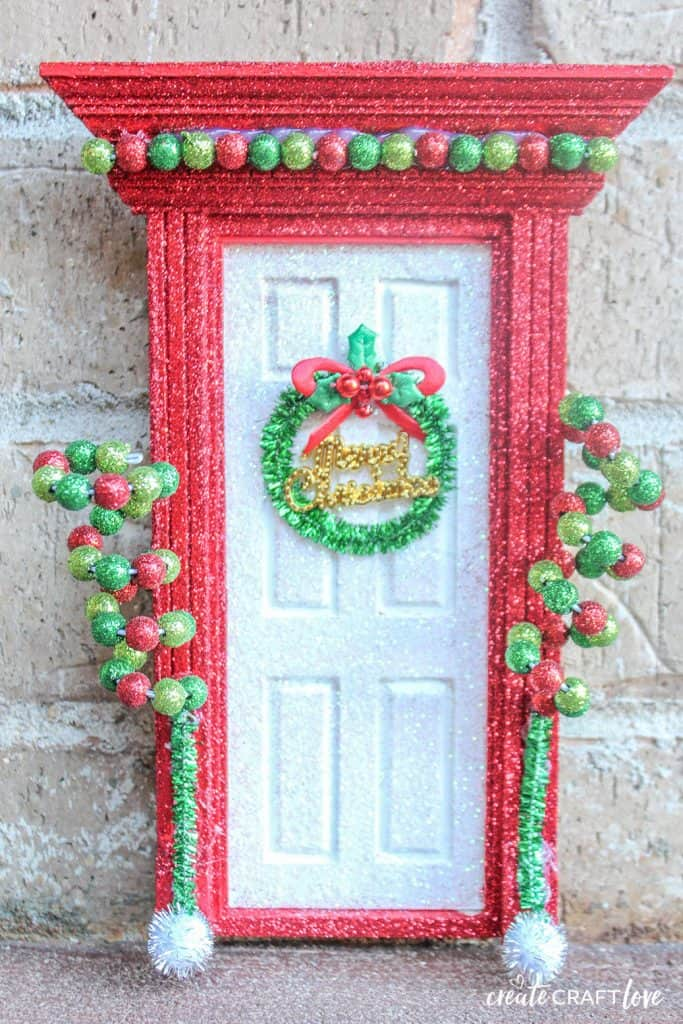 Welcome back your favorite elf this holiday season with this Elf Door!  The kids will go nuts!