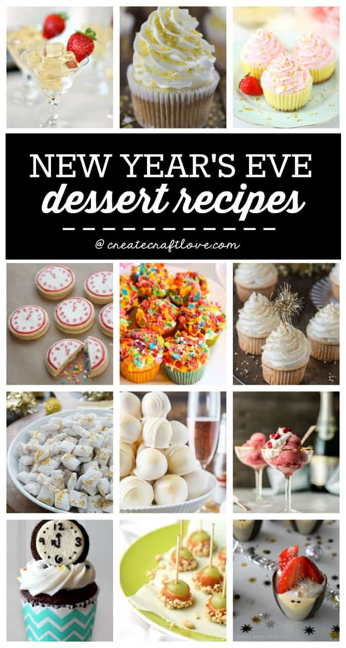 New Years Eve Dessert Recipes