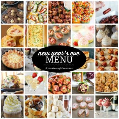 New Years Eve Menu Ideas