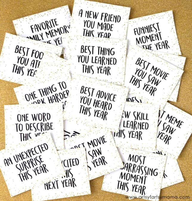 New Years Eve Printables to Celebrate - Create Craft Love