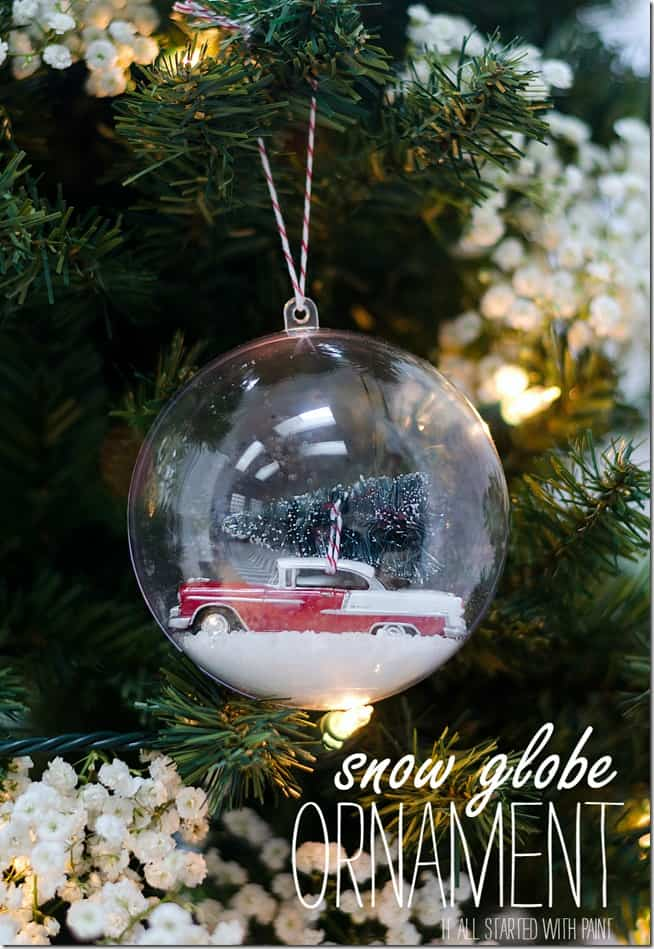 Christmas Ornament Cookie Jar