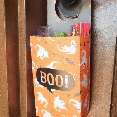 Halloween Door Hanger | Free SVG Cut File