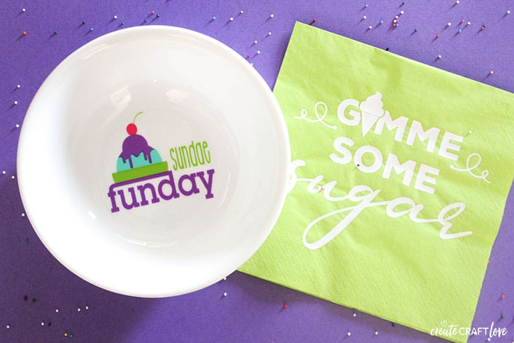 Sundae Funday Ice Cream Bowls