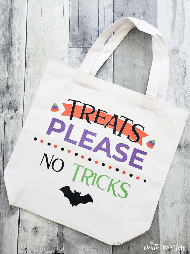 Trick or Treat Bag - Free SVG Cut File