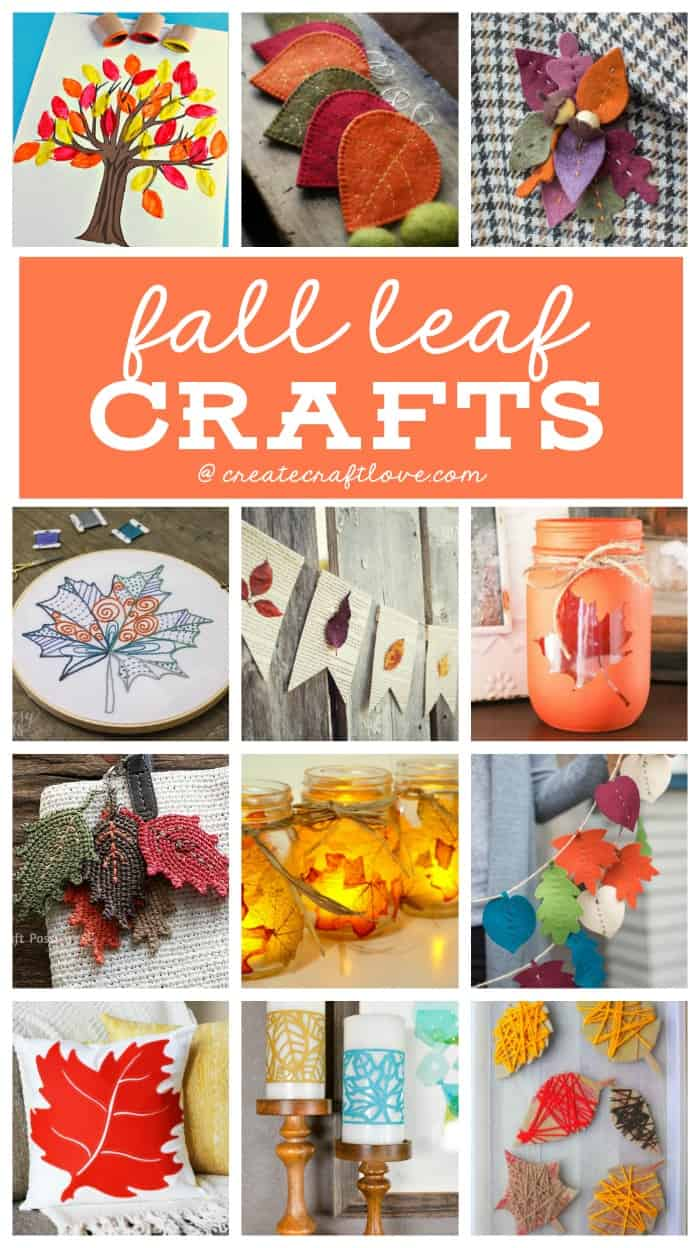 Decorate for autumn with any of these fun and easy Fall Leaf Crafts!