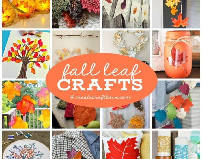Decorate for autumn with any of these fun and easyFall Leaf Crafts!
