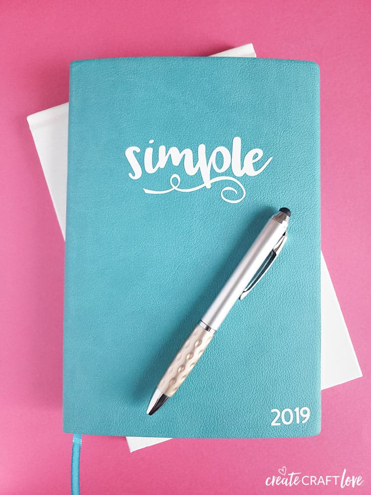 Create your own Word of the Year Journal!