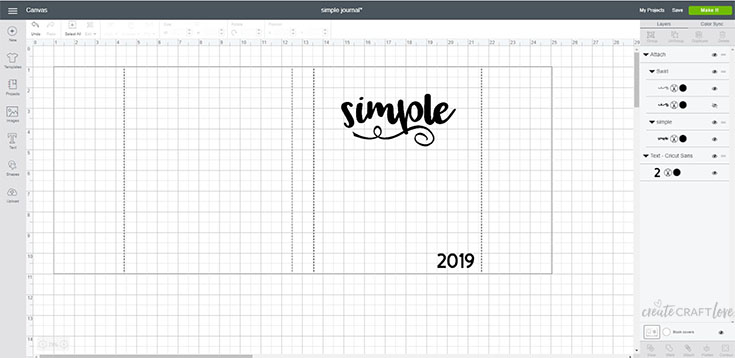 word of the year journal template