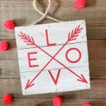 Farmhouse Valentine Decor | How To