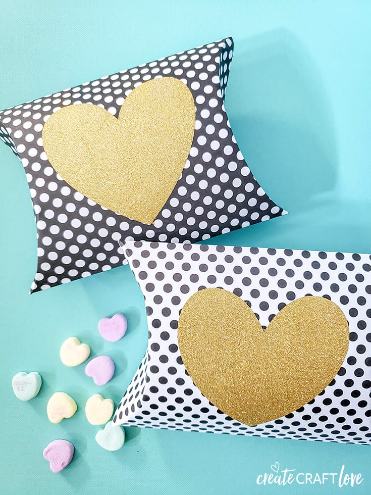 Valentine Pillow Box With Cricut Create Craft Love