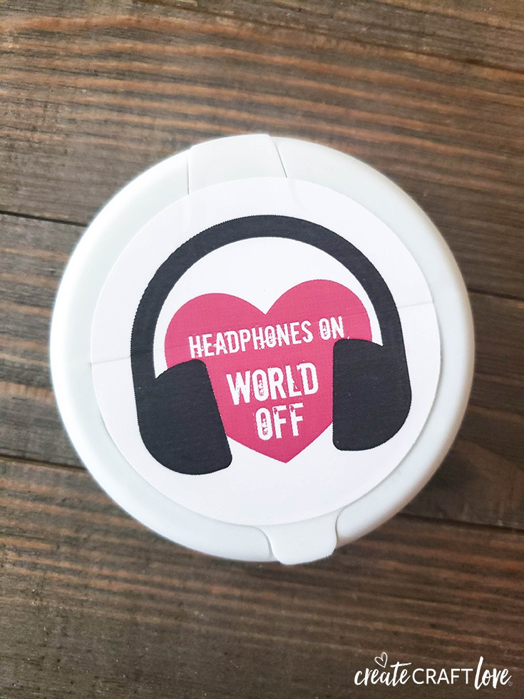DIY Headphones Case