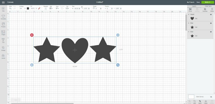 Using the Attach Function in Cricut Design Space - Create Craft Love