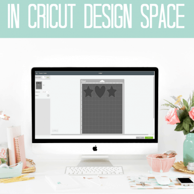 Using the attach function in Cricut Design Space! #cricut #designspace