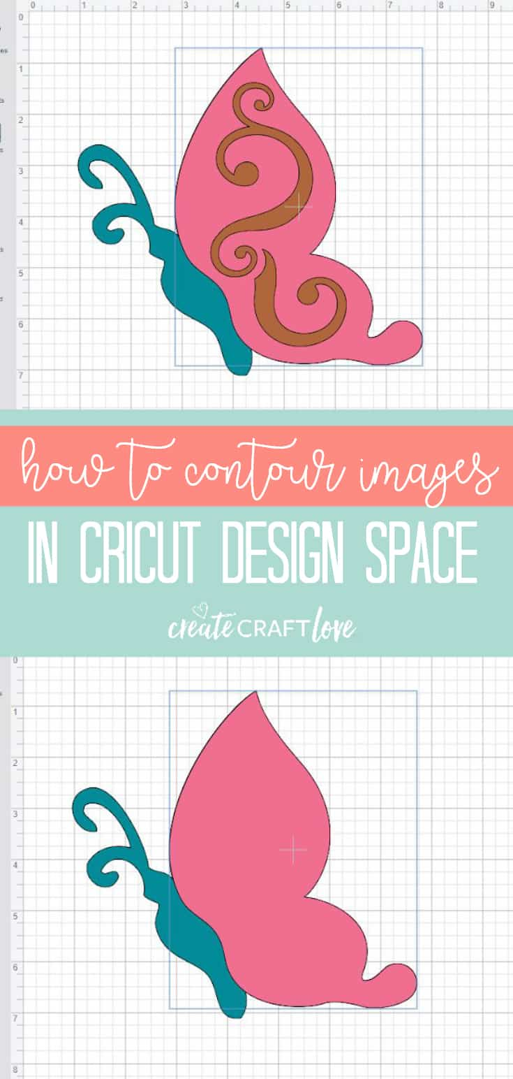 How to Contour Images in Cricut Design Space - Create Craft Love
