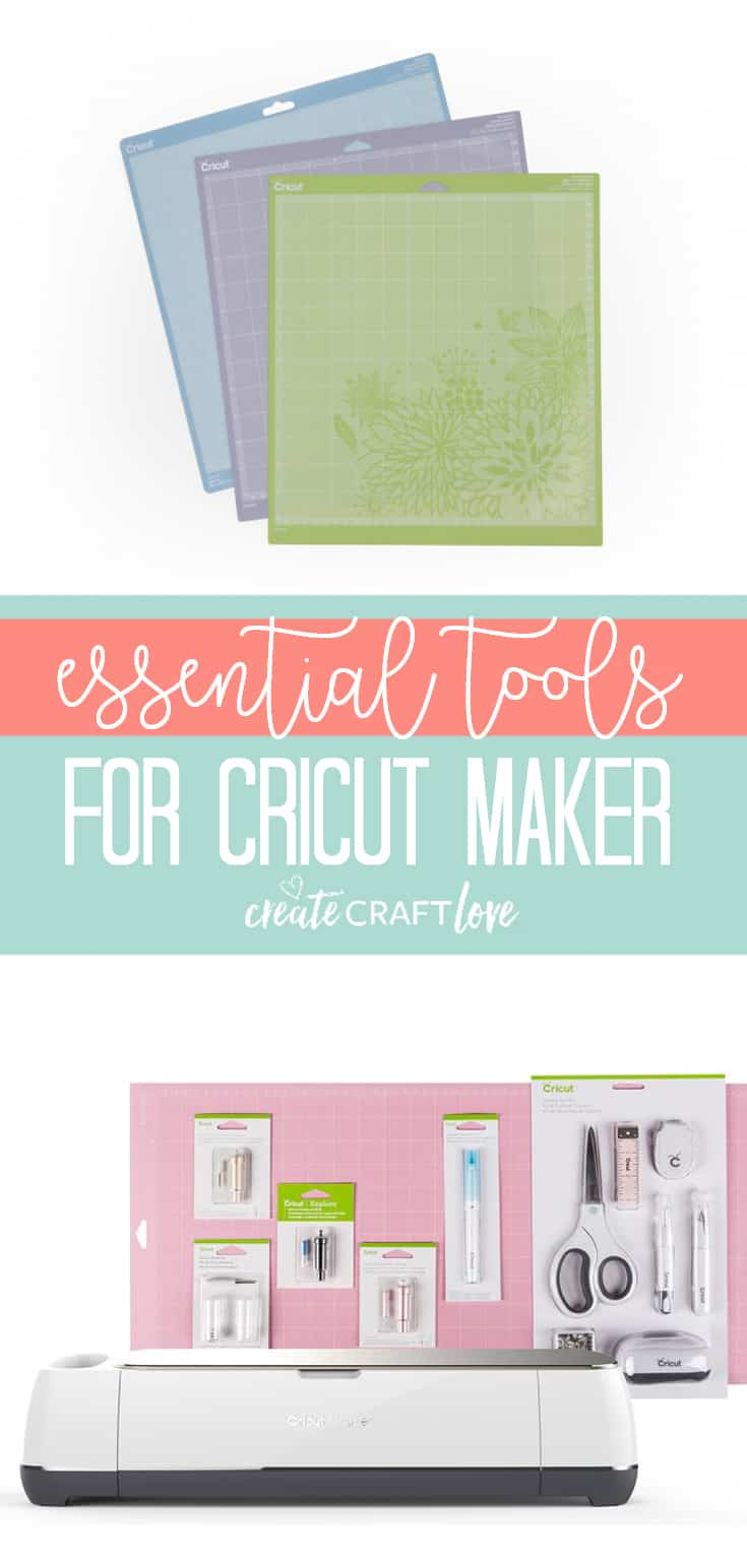 Allow me to introduce you to the Essential Tools for Cricut Maker! #cricut #cricuttools #cricutmaker