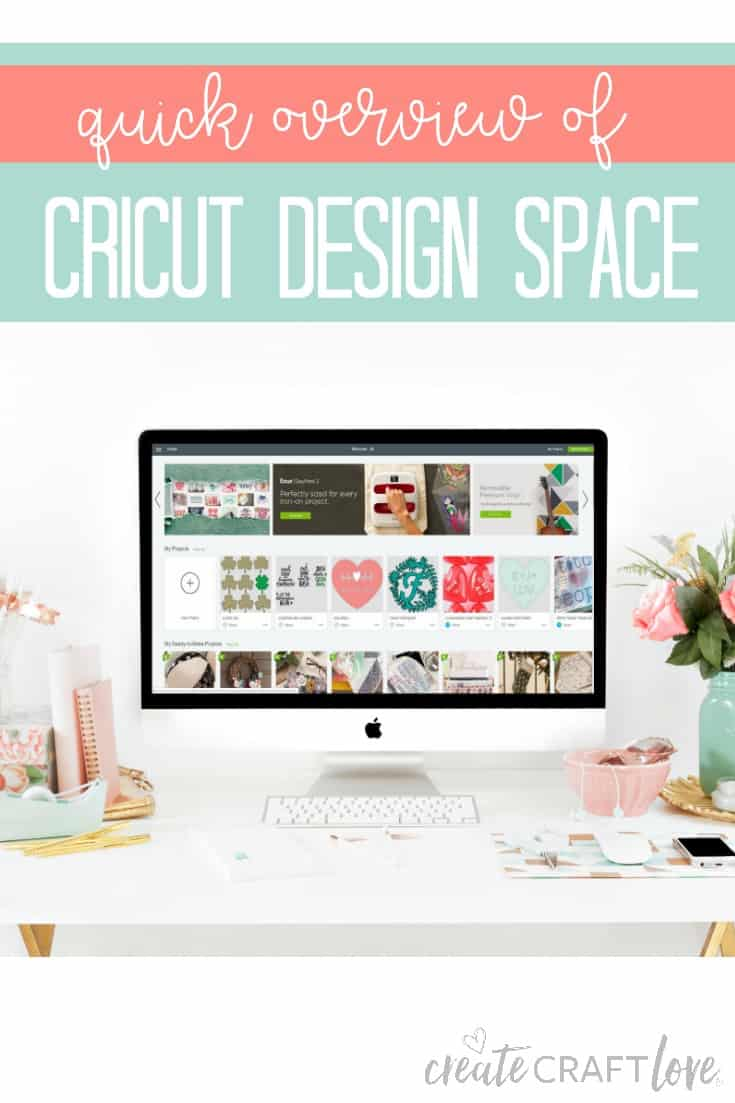 Quick overview of Cricut Design Space #cricut #designspace
