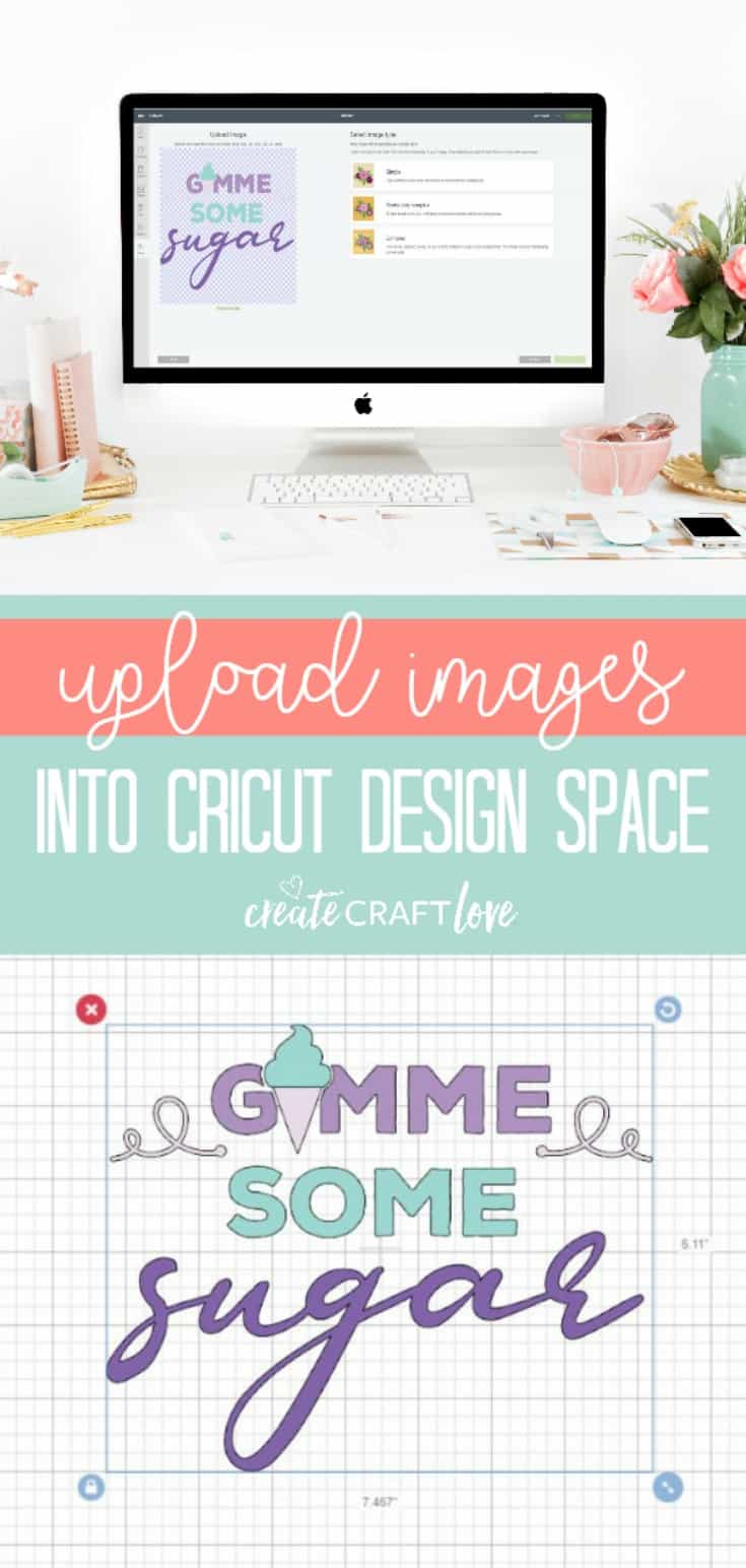 How to Upload Images into Cricut Design Space