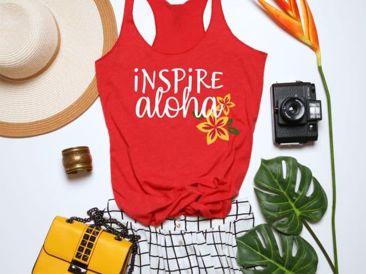 DIY Hawaiian Shirt with free cut files!
