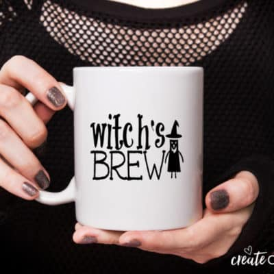 Witch's Brew Halloween Coffee Mug