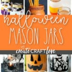 These Mason Jar Ideas for Halloween are sure to add some spooky fun to your holiday decor!