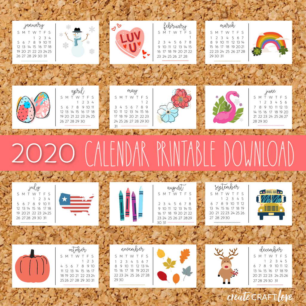 Get Download 2020 Calendar Pictures
