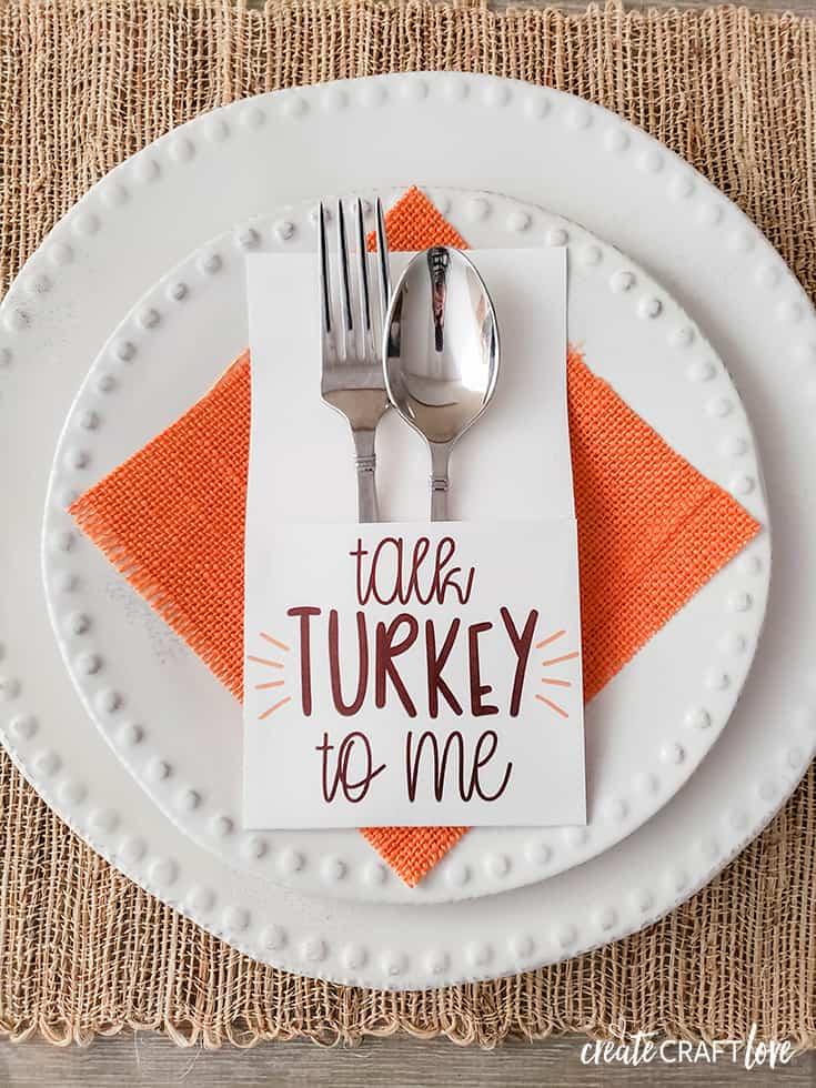 turkey utensil holder